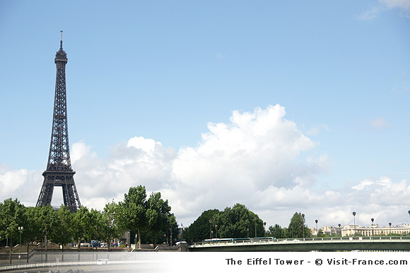 The Eiffel Tower of Paris